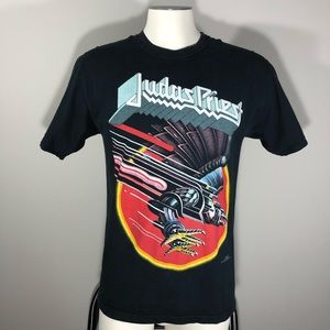 Hanes Judas Priest S/S Medium Black Shirt